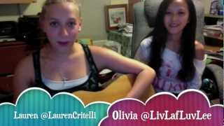 I Won't Give Up Cover - Lauren and Olivia