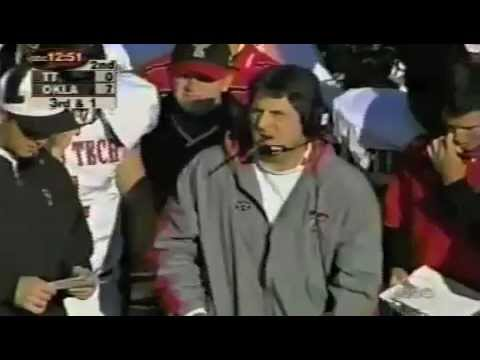 #1 Oklahoma Sooners vs. Texas Tech - 2000