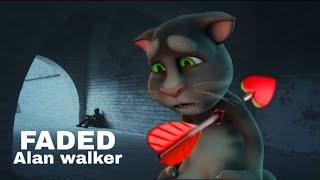 Download lagu Faded - alan walker / gato tom
