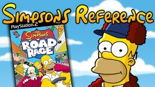 Simpsons Road Rage - Simpsons Reference
