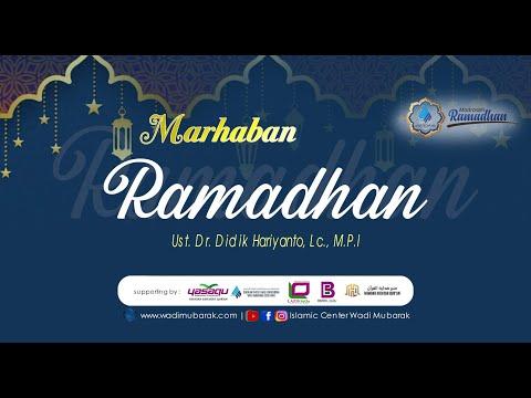 10 Kiat Menyambut Bulan Ramadhan   Ustadz. Dr. Didik Hariyanto Lc., M.P.I.