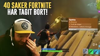 40 SAKER FORTNITE HAR TAGIT BORT I FORTNITE BATTLE ROYALE!