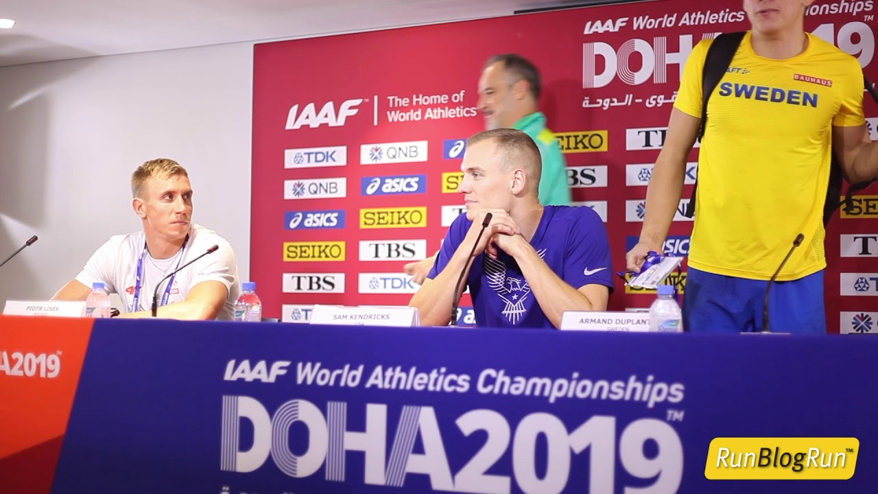 Doha WC 2019 - Men's Pole Vault Final Press Conference