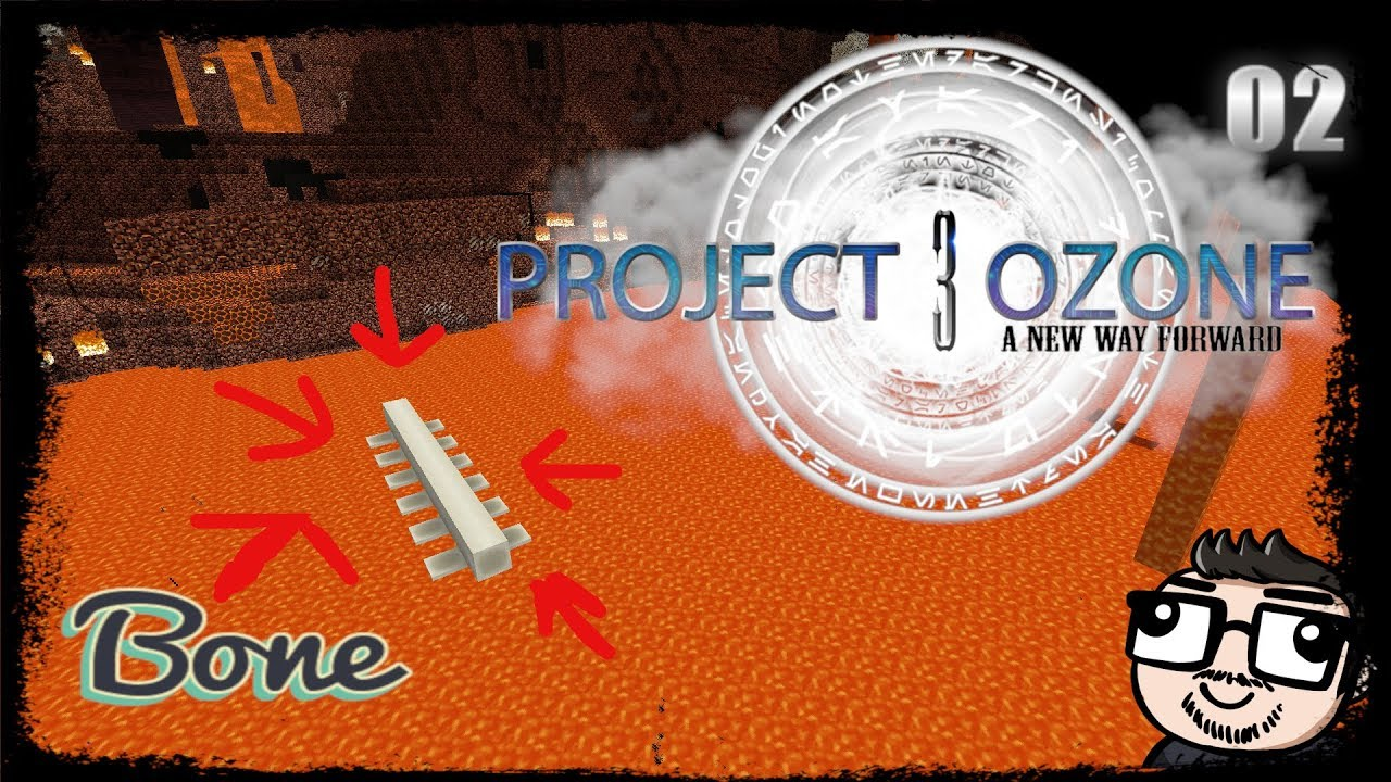 Project Ozone 3 - How To Get BoneMeal Ep 2 - Stomp The Bean