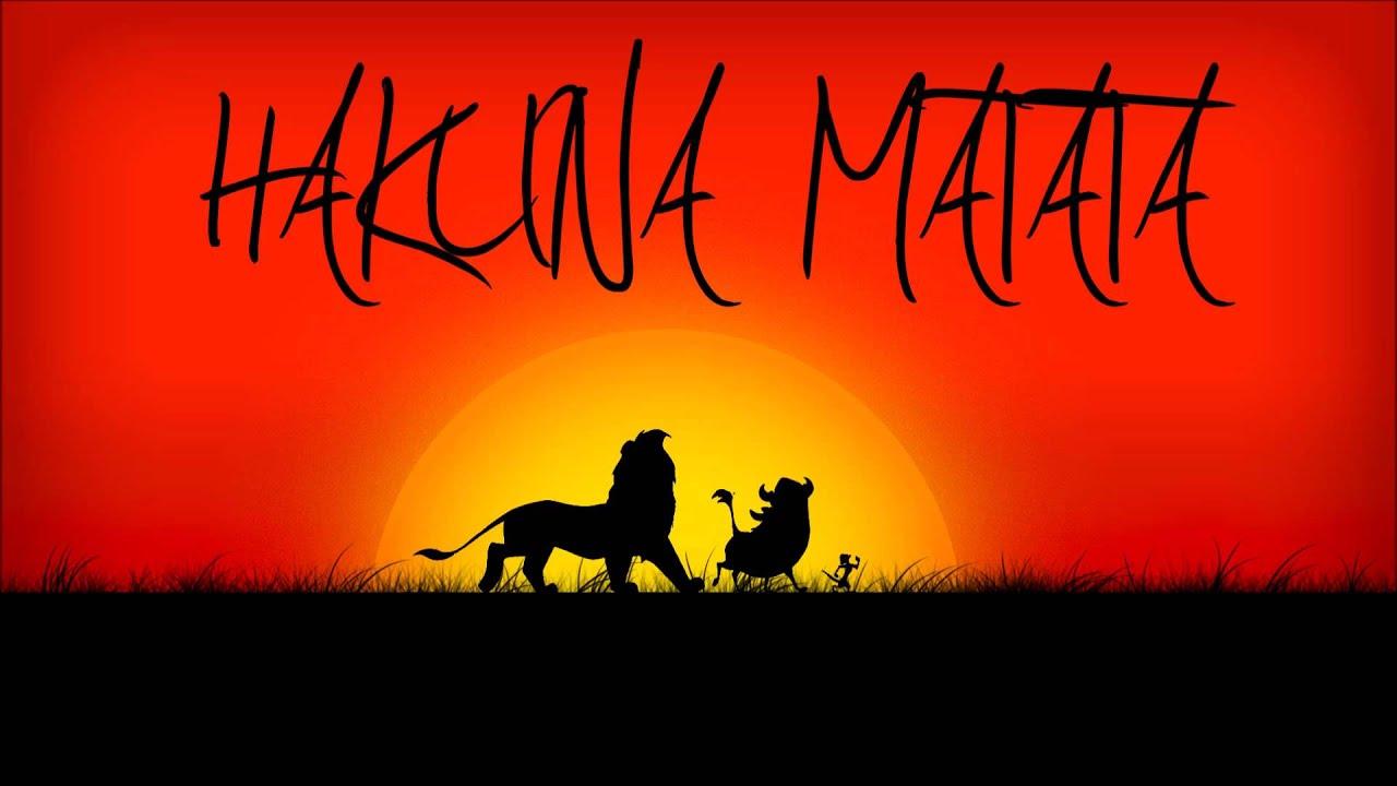 The lion king hakuna matata 8 bit instrumental youtube - Hakuna matata tatouage ...
