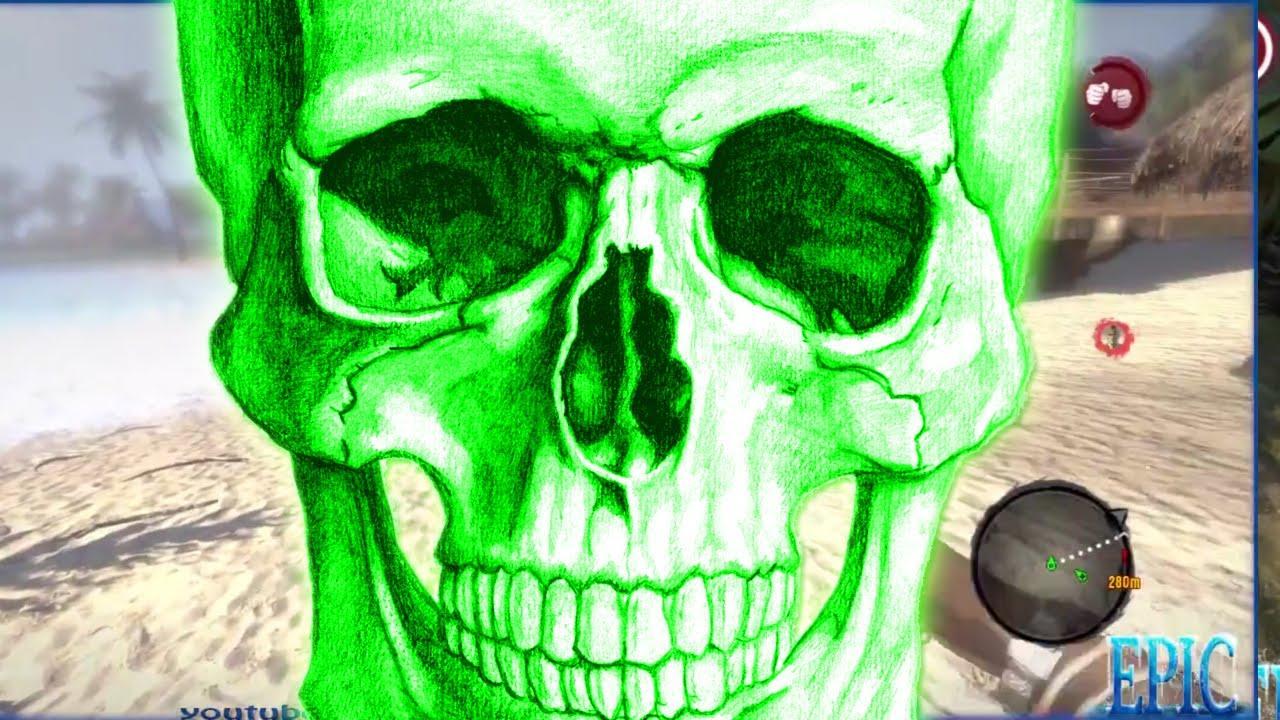 Blue Skulls Dead Island