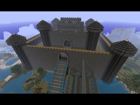 how to build minecraft castles