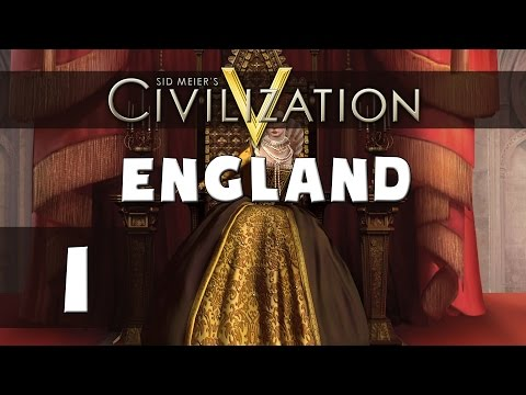 Civilization 5 - Let's Play England (Deity) - Part 1