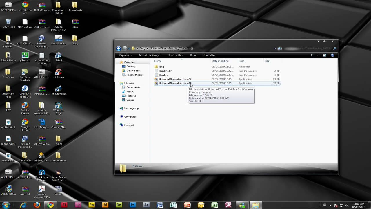 How to install custom themes in windows 7 ultralinx.