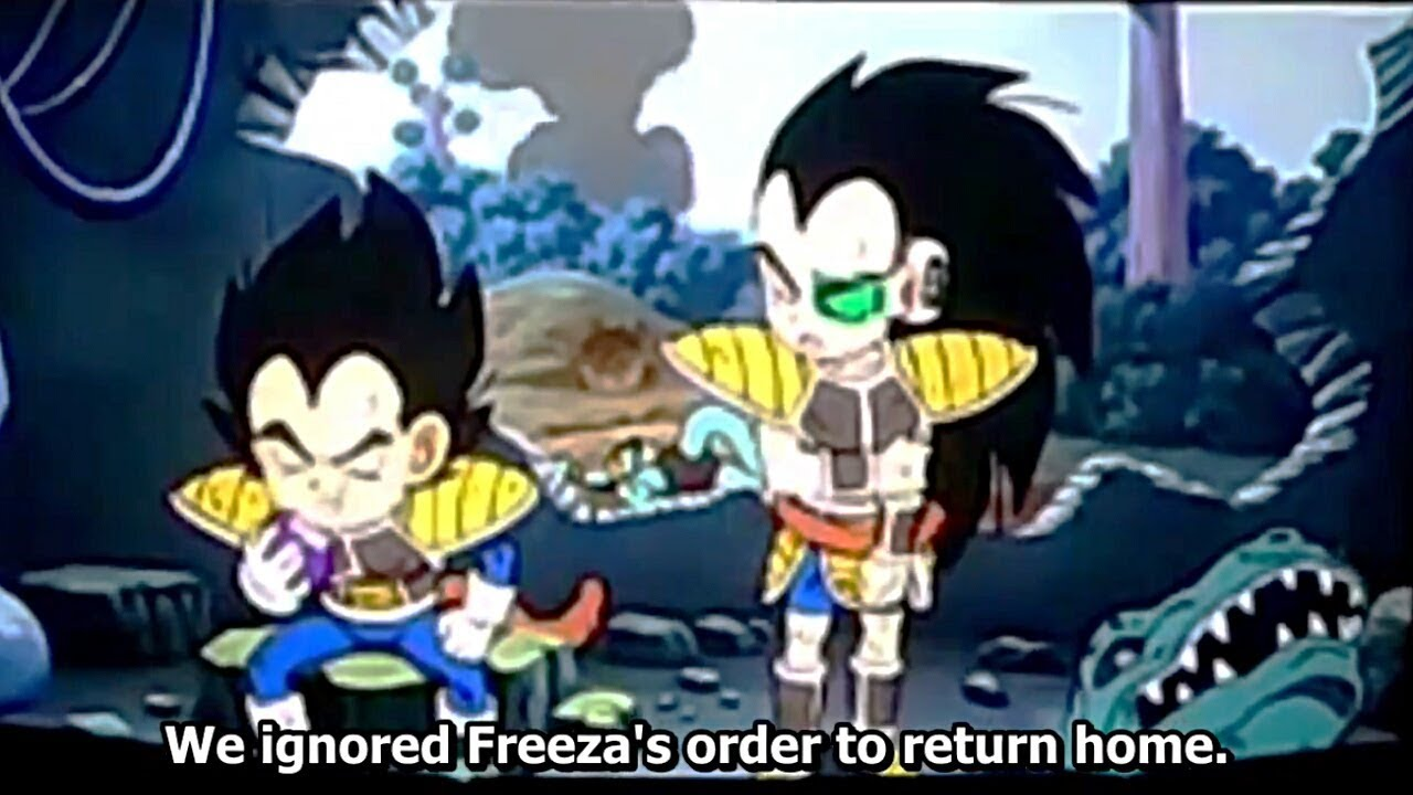 Kid Vegeta And Kid Raditz Story Dragon Ball Super Broly Movie Scene