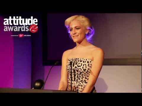 Attitude Awards 2012: Fashion Brand of the Year, Diesel (Collected by Pixie Lott)