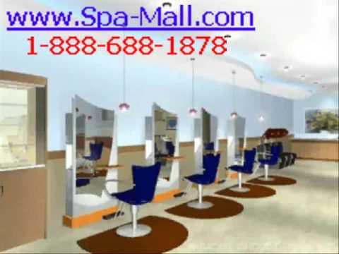 beauty salon designer - YouTube