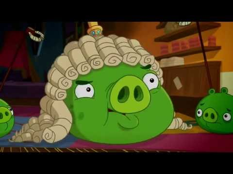 Злые птички Angry Birds Toons 1 сезон 30 серия Свиной парик все серии подряд