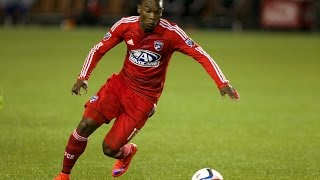 GOAL: Fabian Castillo scores in the first minute.