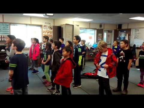 Puesta del Sol Elementary School anthem