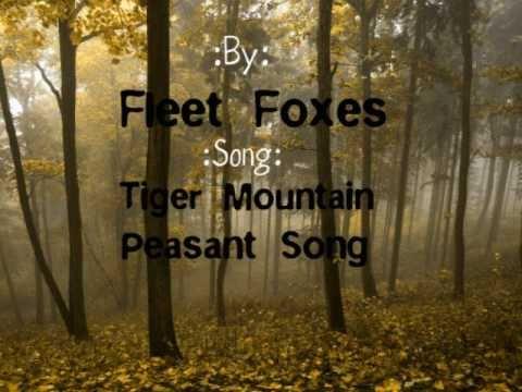 Fleet Foxes-Tiger Mountain Peasant Song Lyrics