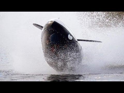 Подводный катер - субмарина Seabreacher. Тест на пироговке!
