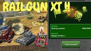 Tanki Online  RAILGUN XT MISSION!!! + GOLDS