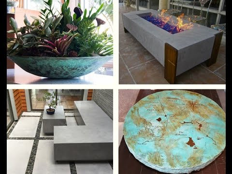 Coulter Designs' concrete products and services