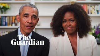 Barack and Michelle Obama talk race and coronavirus to class of 2020