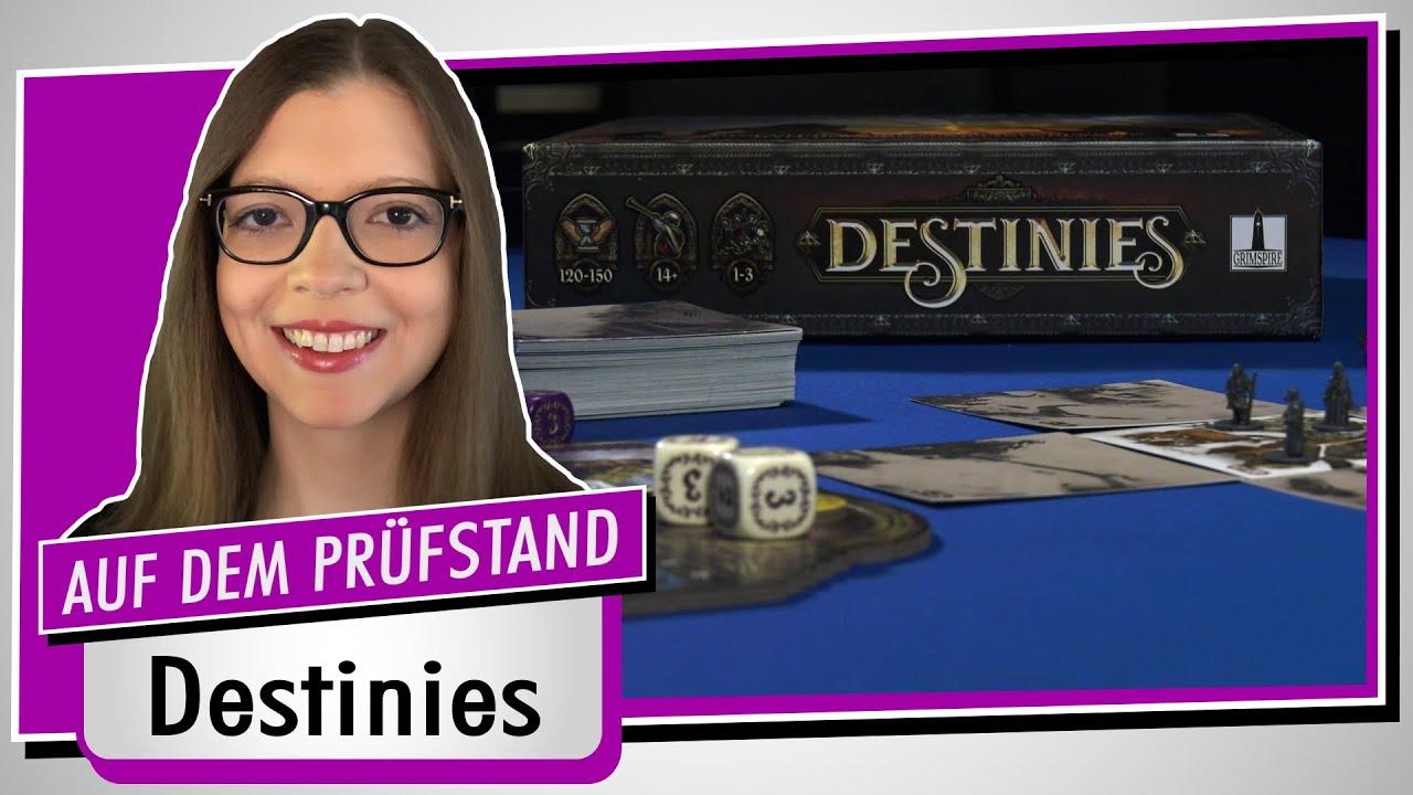 Spiel doch mal DESTINIES! - Brettspiel Rezension Meinung Test #383