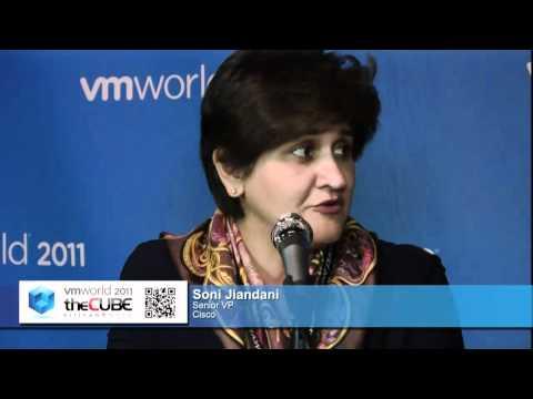 Soni Jiandani, Cisco - VMworld 2011 - theCUBE