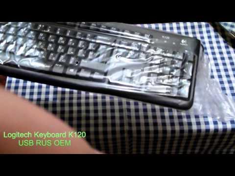 Клавиатура Logitech Keyboard K120 USB RUS OEM