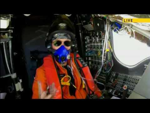 Chat between UNFCCC head Patricia Espinosa and Solar Impulse pilot Betrand Piccard