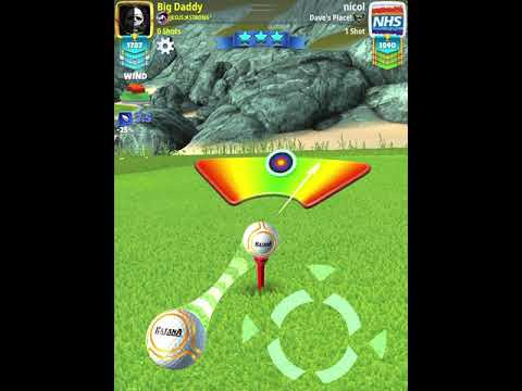 Golf Clash 4th Anniversary Tournament PRO Weekend Round (Finals) Back 9 Wind