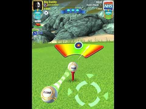 Golf Clash 4th Anniversary Tournament PRO Weekend Round (Finals) Back 9 Wind