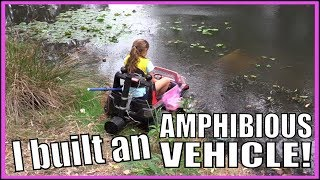 How to build an AMPHIBIOUS VEHICLE with Mikky from Little Big Shots