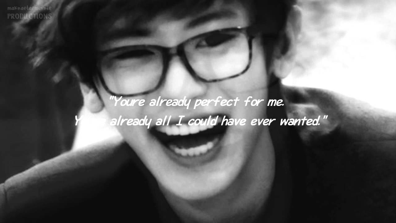 baekyeol i m not perfect