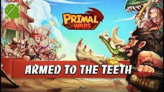 Primal Wars Dino Age - Android Gameplay FHD