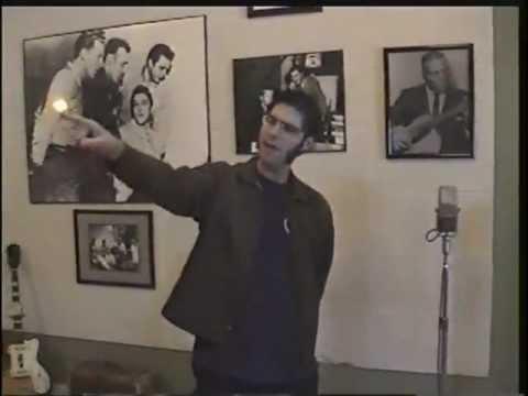 Elvis Presley Million Dollar Quartet at Sun Studio Memphis