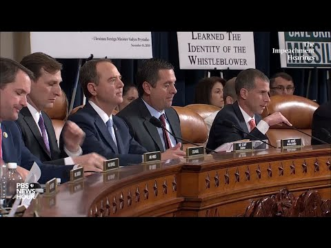 WATCH: Republican counsel's full questioning of Amb. Yovanovitch   Trump impeachment hearings