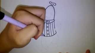 กล้วยหอมจอมซน บี1 บี2 สอนวาดรูป การ์ตูน โดย วาดการ์ตูนกันเถอะ