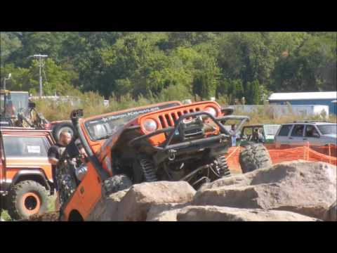 Great American Jeep Rally 2016 Rock Garden