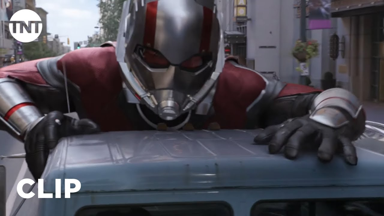 Download Ant-Man and The Wasp: Scott Lang, Hope Van Dyne, and Ava Starr Car Chase [CLIP] | TNT