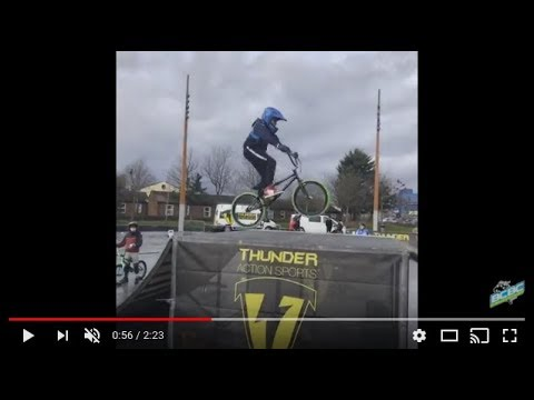 Belfast City Bmx Club Jump Skills Coaching at CS Lewis Sq. with Thunder Action Sports