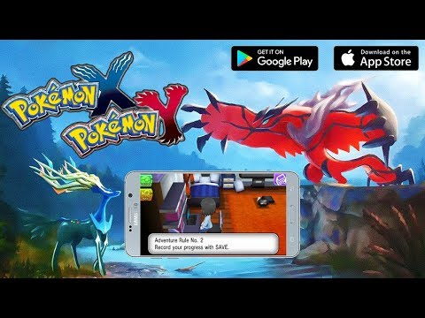 Pokemon X & Y Mobile Gameplay Android APK & IOS Download
