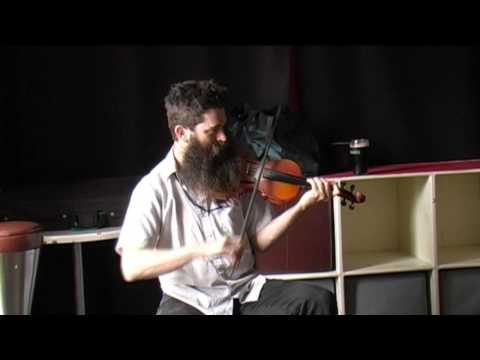 FIDDLE MASTERCLASS with AARON JONAH LEWIS, Westport Folk & Bluegrass Festival  2014
