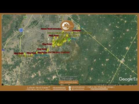 Lahore Ring Road Impact On Schemes Prism Develpomet Update CMY of Lahore Real Estate April 28 2017