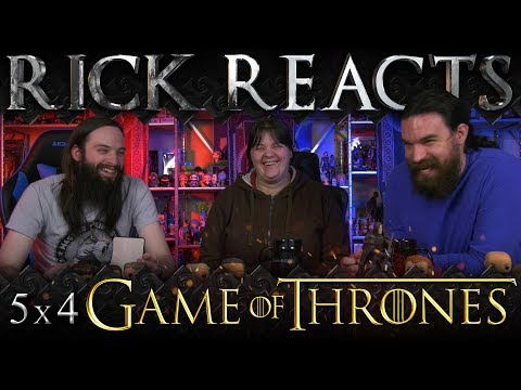 """RICK REACTS: Game of Thrones 5x4 """"Sons of the Harpy"""""""