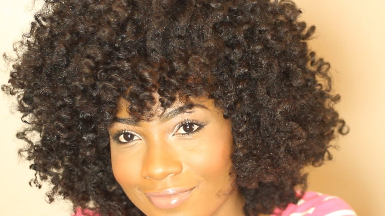 Ultimate Curly Fro Tutorial Naturallygg Youtube