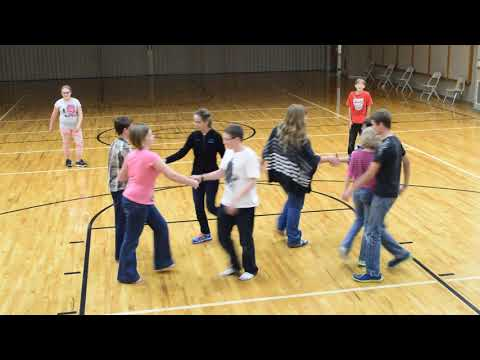 Rubik's Cube Youth Square Dancers