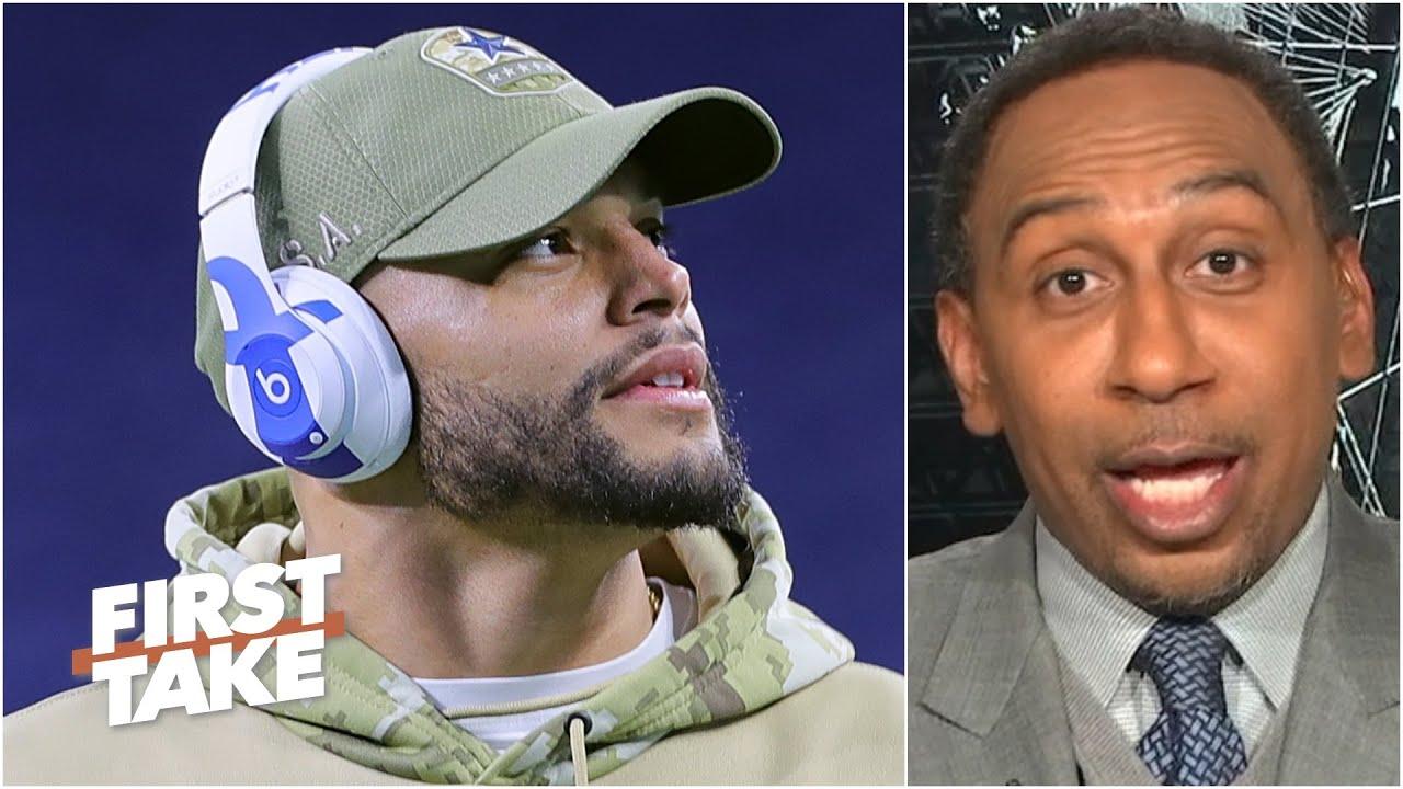 'Dak Prescott definitely could lead the Dallas Cowboys to a Super Bowl' - Stephen A. | Fir