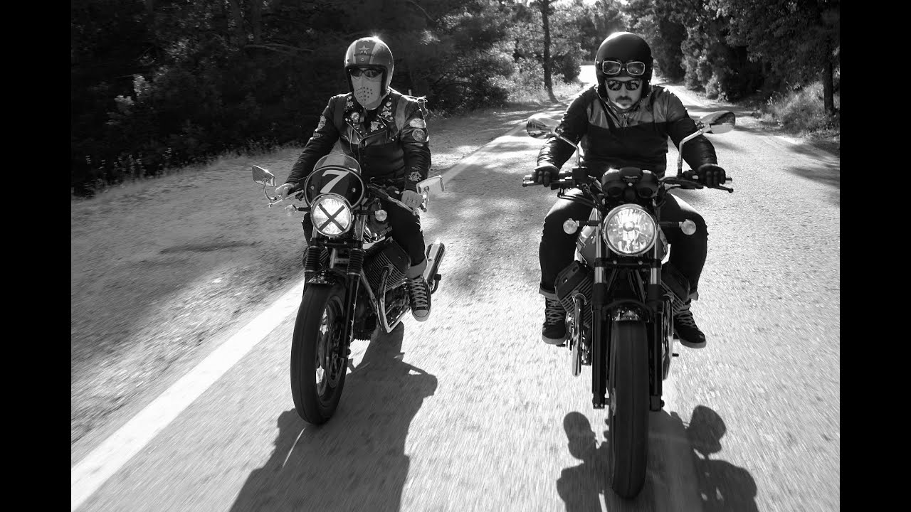 moto guzzi v7 ii special & v7 ii racer test-ride - youtube
