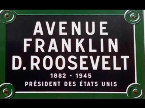 Avenue Franklin D  Roosevelt Paris Arrondissement  8e