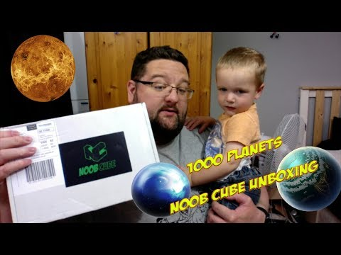 Noob Cube Unboxing August '17 1000 Planets