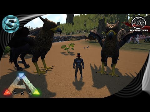 EPIC HIPPOGRIFF TAMING! Ep 7 - Extinction Core, Ark: Survival Evolved